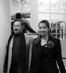 with my daughter Maria, The International House of Music Moscow 2011